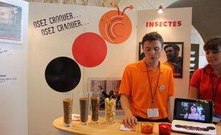 Crikizz, l'un des participants finalistes d'Ecotrophelia 2012, en Avignon