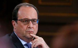 Le président François Hollande le 19 mai 2016 à Paris