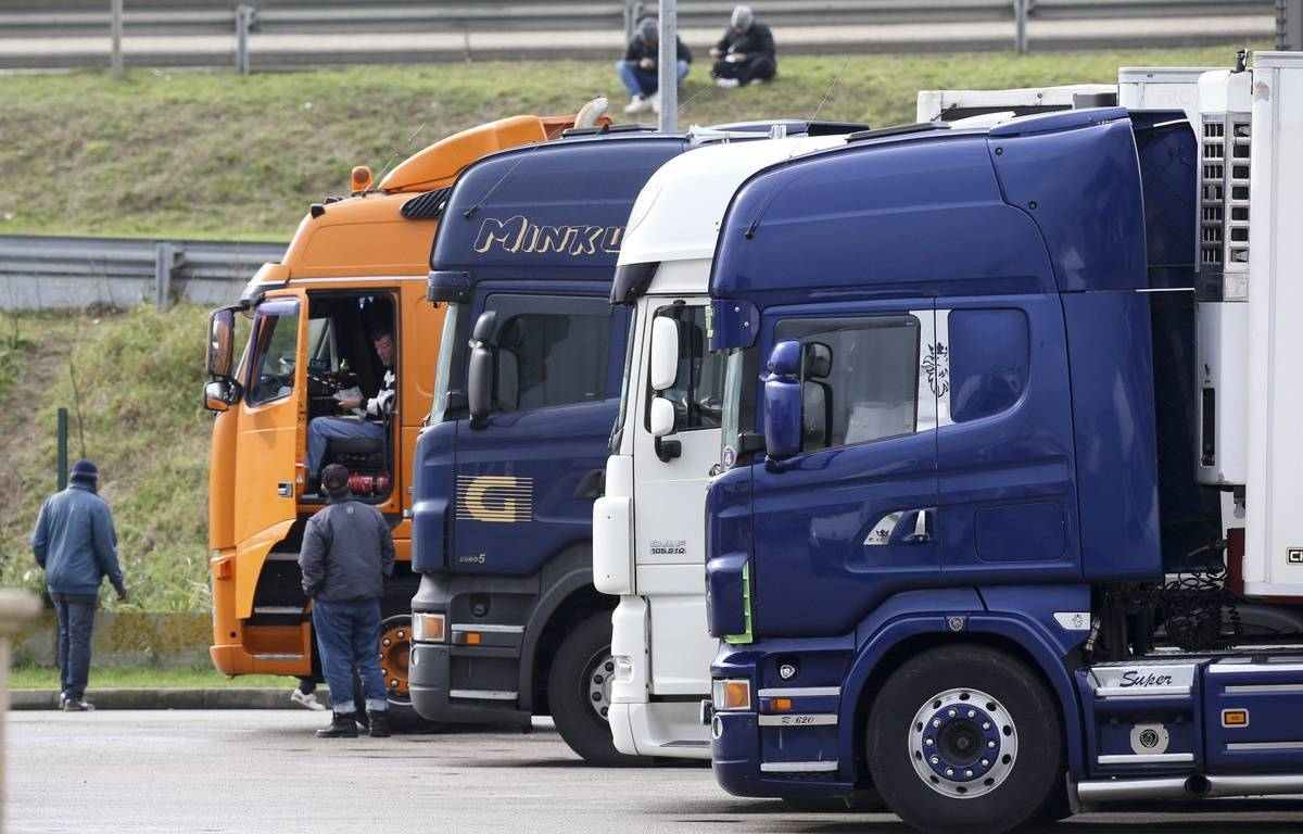 Un camionneur raconte sa lutte contre le trafic d'humains – VINCENT WARTNER/SIPA