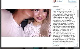 Capture écran de la page Instagram de Stephanie Monique Solis / smsolis90