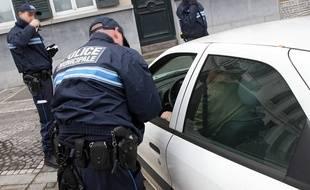 La police municipale de Roubaix va être équipée d'armes à feu (illustration).