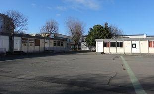 Beaucoup d'élèves ne sont pas venus au lycée Joliot-Curie de Nanterre (92), ce jeudi 7 avril.