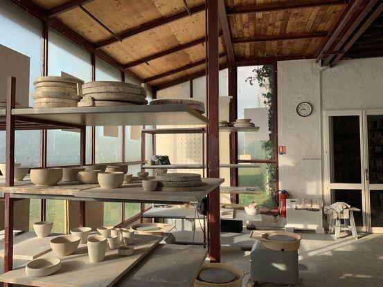 L'association terre d'art et d'argile propose des cours sur le site de Gradignan.