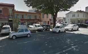 Les commerces de l'avenue Jules-Julien, à Toulouse, où se sont déroulés les faits