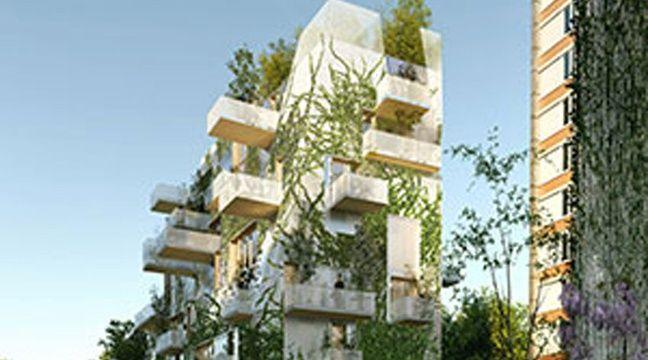 L'immeuble en structure bois du groupe Pichet en association avec le cabinet d'architecte laisné roussel / Perpective RSI Studio – Laisné Roussel
