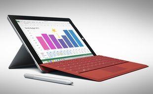 La tablette Surface 3 démarre à 599 euros, avec un clavier vendu séparément à 149 euros.