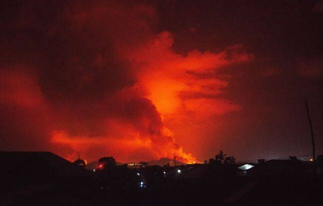 648x415 le volcan nyiragongo est entre en eruption
