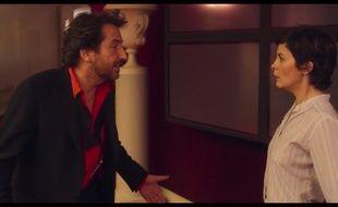 Edouard Baer et Audrey Tautou dans le film  «ouvert la nuit»