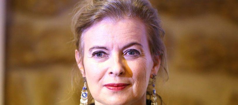 La journaliste Valérie Trierweiler officiait à « Paris Match » depuis 1989.