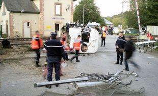 L'accident de train de Saint-Médard-sur-Ille avait fait trois morts et des dizaines de blessés le 12 octobre 2011.