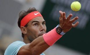 Rafael Nadal, le 28 septembre 2020 à Roland-Garros.