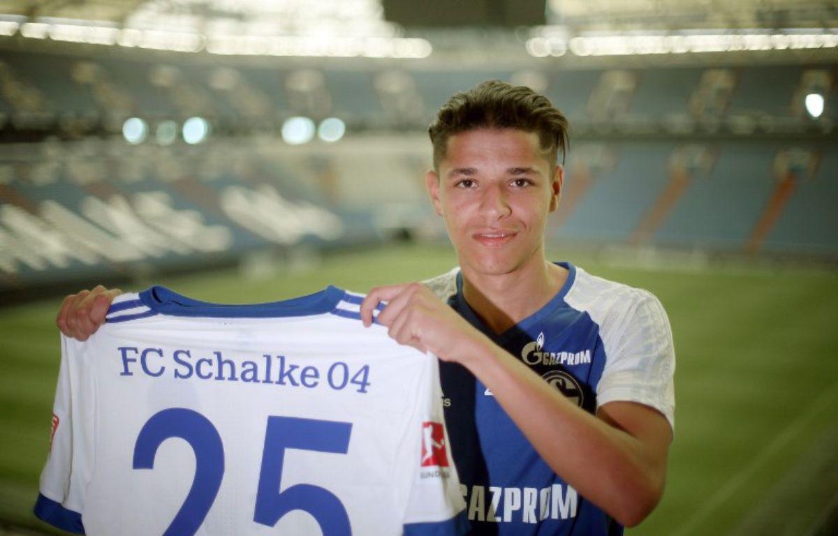 Amine Harit, passé cet été de Nantes à Schalke 04, a opté pour la sélection marocaine.  –  Ina Fassbender