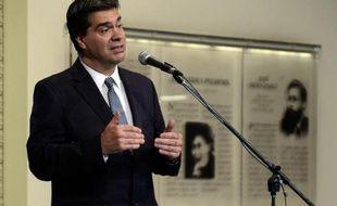 Le chef du gouvernement argentin Jorge Capitanich le 30 juin 2014 à Buenos Aires