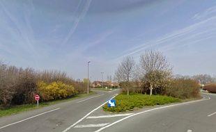 La rue de l'Abattoir, à Dunkerque, dans le Nord.