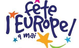 Le logo de la fête de l'Europe.