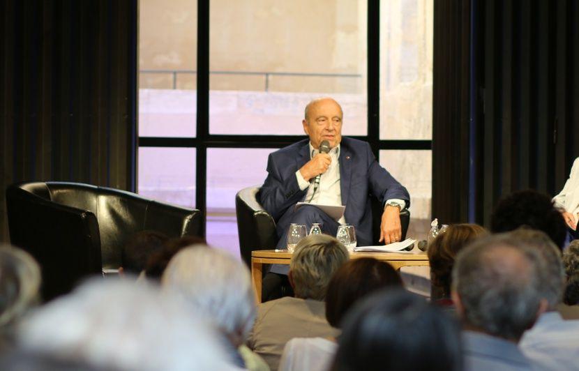 Alain Juppé: «J'ai eu le malheur de parler de bonheur dans une récente campagne»