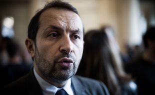 Le porte-parole du RN, Sébastien Chenu, le 19 mars 2019 à Paris.