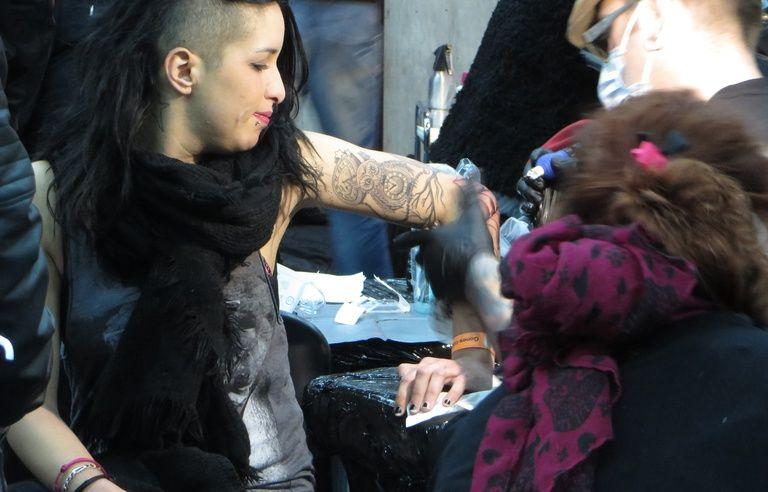 Lyon Ils Ont Les Tatouages Dans La Peau