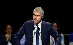 Laurent Wauquiez , président de la région Auvergne-Rhône-Alpes. Credit:CHAMUSSY/SIPA