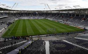 Le Stadium de Toulouse rénové pour l'Euro 2016 de football, le 13 janvier 2016.