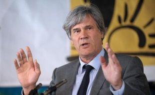 Stéphane Le Foll le 23 avril 2015 à Saint-Jean-Pied-de-Port