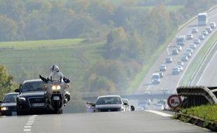 Une portion de l'autoroute A31 sera fermée ce dimanche en Moselle pour une battue aux sangliers. Illustration