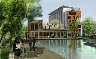 L'eau de pluie pourraitêtre récupérée, à l'horizon 2050, sur le campus de la Doua.