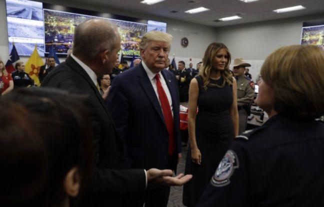 Fusillade au Texas: Donald et Melania Trump posent tout sourire avec un bébé orphelin survivant de la tuerie