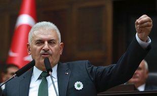 Le Premier ministre turc Binali Yildirim, le 12 juillet 2016.