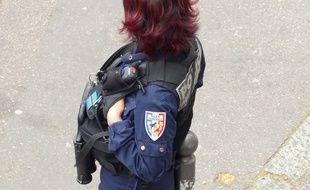 L'homme a été arrêté par la brigade de sûreté urbaine de Bron. Illustration.