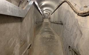 Sous le musée, un abri de défense passive devenu CP militaire ne demande qu'à être visité