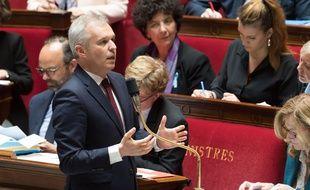 Francois de Rugy est ministre de la Transition écologique et solidaire depuis septembre 2018.