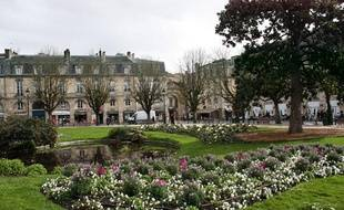 La place Gambetta, à Bordeaux