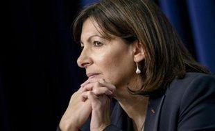 La maire de Paris Anne Hidalgo à Washington lors d'un sommet contre l'extrémisme le 18 février 2015