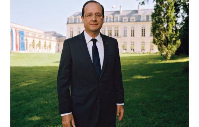 Photographie officielle du président de la République française, François Hollande, prise par Raymond Depardon.