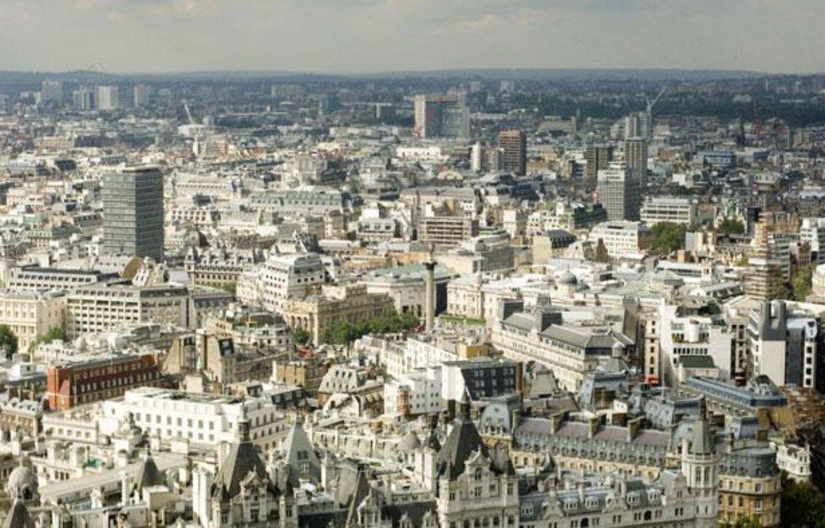 La City de Londres vue du London Eye, le 25 janvier 2012. – SUPERSTOCK/SUPERSTOCK/SIPA