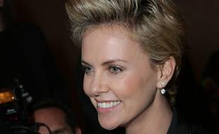 Charlize Theron, le 12 novembre 2013, à Hollywood.