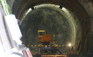 La ligne LGV Lyon-Turin n'est pas enterrée même si elle ne semble pas faire partie des priorités du gouvernement français.