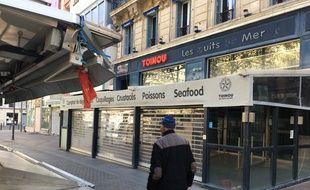 Les rideaux de Chez Toinou sont définitivement baissés, cours Saint-Louis, à Marseille. Une décision antérieure à la pandémie de coronavirus.