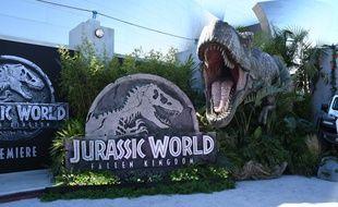 Décor de l'avant-première de «Jurassic World: Fallen Kingdom» à Los Angeles