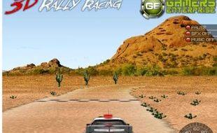 Le jeu du jour: 3D rally racing