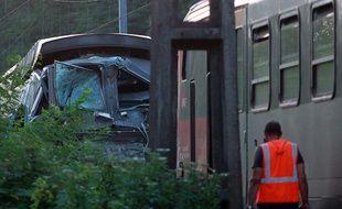 Une collision entre un TGV et un TER à Denguin (Pyrénées-Atlantiques) a fait 40 blessés, le 17 juillet 2014.