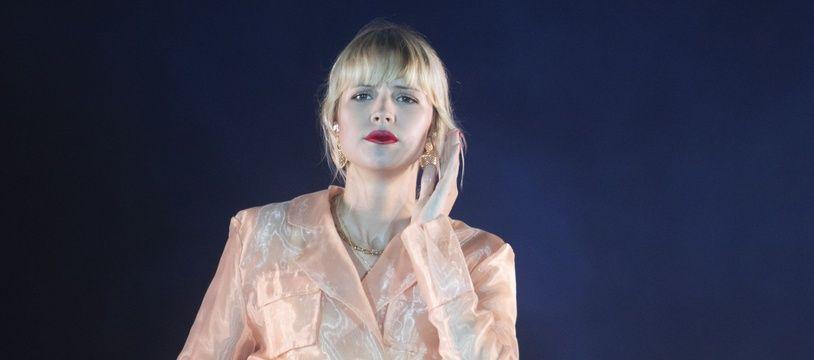 La chanteuse Angèle.
