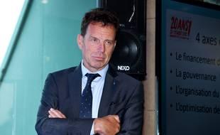 Geoffroy Roux de Bezieux, le patron des patrons le 27 août 2018.