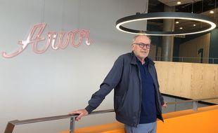 Eric Gouzannet, directeur du Cinéma Arvor, attend avec impatience les premiers spectateurs.