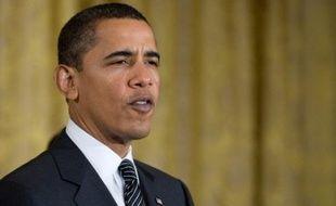 """Le président américain Barack Obama a averti lundi que les Etats-Unis ne pouvaient pas se permettre des retards dans l'adoption par le Congrès de l'important plan de relance économique qu'il soutient, appelant les parlementaires à agir de manière """"rapide et exceptionnelle""""."""