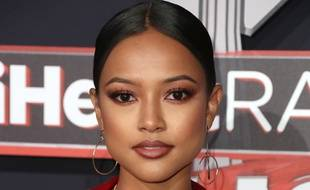 L'ex de Chris Brown, Karrueche Tran, aux iHeartRadio Music Awards 2017