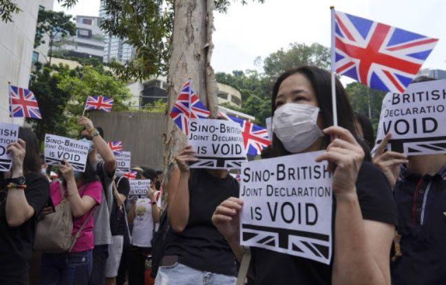 Crise à Hong Kong: Des manifestants réclament un engagement de Londres dans le conflit