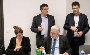 Réunion du patronat sur les contrats courts (image d'illustration).