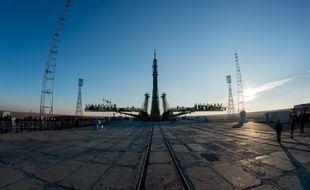 La fusée Soyouz à Bakonour, le 14 novembre 2016.